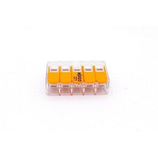 """25 Stück WAGO-Steckklemmen 5 x 2,5qmm /""""Neu/"""" 273-105"""