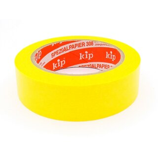 Kip 308-30 FineLine-tape 50m x 30mm gelb
